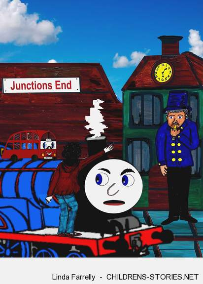 Children's Story: Elliots Amazing Adventures No 40 - Off The Rails by Linda Farrelly