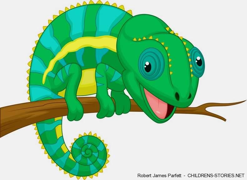 Children's Story: The Clockwork Chameleon by Robert James Parfett